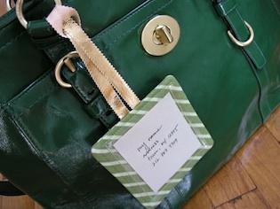 bagage label maken