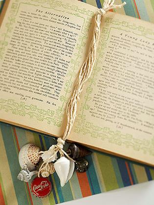 zelfgemaakte boekenlegger