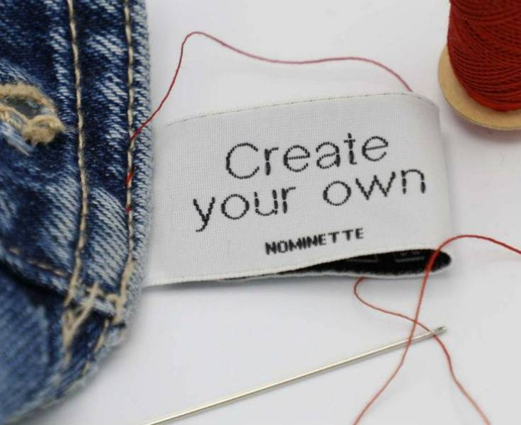 Design your own label! Create your personalised name labels